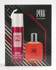DISC Revlon Pub 75ml Aftershave / 120ml Deodorant Spray