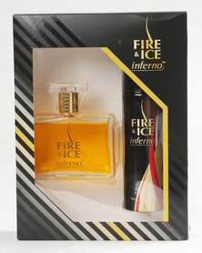 Revlon Fire & Ice Inferno 100ml EDC / 120ml Deodorant Spray