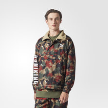 Pharrell Williams Hu Hiking Camo Windbreaker