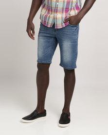 JCrew 5 Pocket Denim Shorts Indigo