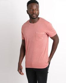 RVCA PTC 2 Pigment T-shirt Pink