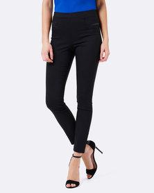 Forever New Stephanie Pull-on Skinny Pants Black