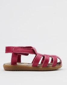 Shooshoos Empire Slip On Sandals Pink