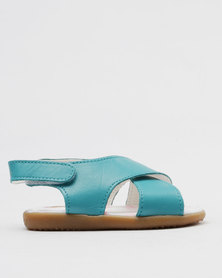 Shooshoos Eternity Slip On Sandals Blue