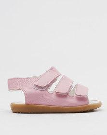 Shooshoos Lucky Sally Slip On Sandals Pink
