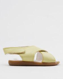 Shooshoos Butterscotch Slip On Sandals Yellow