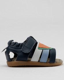 Shooshoos Orange Slices Slip On Sandals Multi
