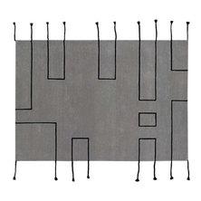 Lorena Canals Nordic Lines Wool Rug Grey