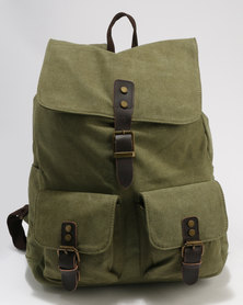 Shadows Cuan Backpack Olive