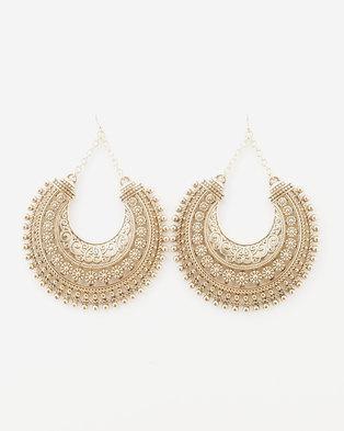 ALDO Roseen Drop Earrings Gold-Tone