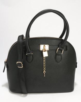 ALDO Frata Handbag Black