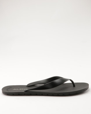 ALDO Koulman Mens Thong Sandal Black