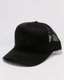 Globe Daily Low Rise Trucker Cap Black
