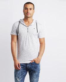 K7Star Dallas T-Shirt Off White