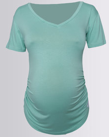 Penelope & Bella Maternity T-Shirt Mint