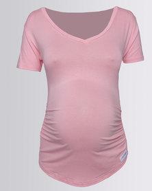 Penelope & Bella Maternity T-Shirt Pink