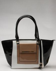 Utopia 3 Tone Handbag Multi
