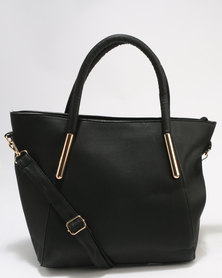 Utopia Shopper Bag Black