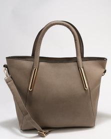 Utopia Shopper Bag Taupe