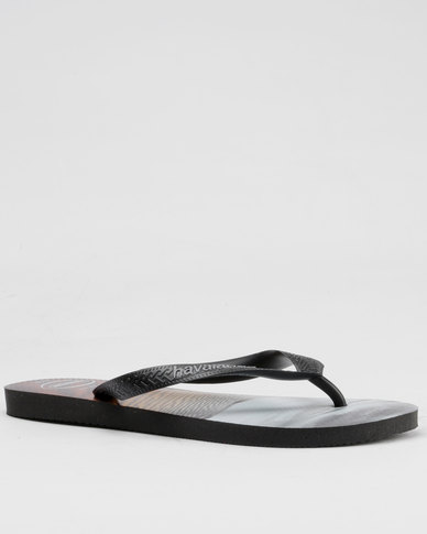 192ad32d0 Havaianas Hype Flip Flops Black