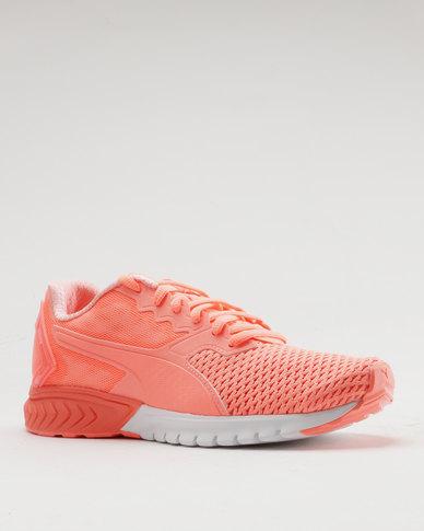 Puma Performance Ignite Dual Mesh Women s Running Shoe Peach  0843c7371