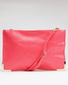 Utopia Clutch Bag Pink