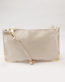 Utopia Clutch Bag Cream