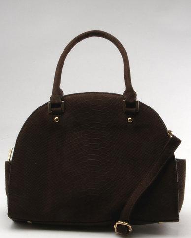 Utopia Bowler Bag Brown