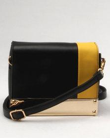 Utopia Box Bag Black/Yellow
