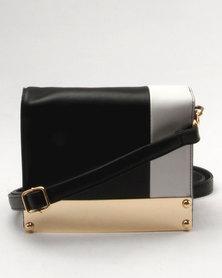 Utopia Box Bag Black/White