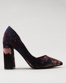 Call It Spring Gricode Ladies Flared Heel Half d'Orsay Pump Multi