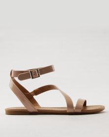 Call It Spring Agroerwen Bellana Lace Up With Buckle Bone