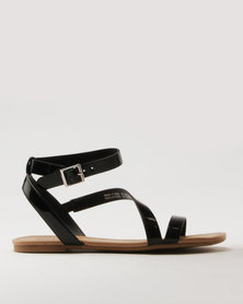 Call It Spring Agroerwen Bellana Lace Up With Buckle Black