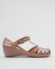 Candy Jelly Pumps Nude