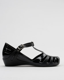 Candy Jelly Pumps Black
