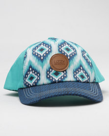 Lizzy China Cap Teal