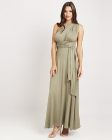 Utopia Infinity Dress Olive