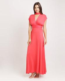 Utopia Infinity Dress Coral