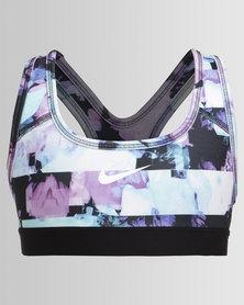 Nike Girls Nike Performance Bra Classic All-Over Print 1 Purple
