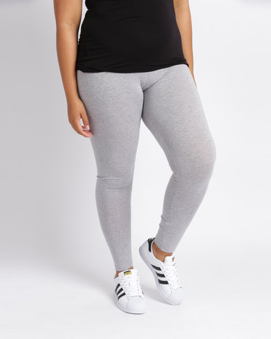 Utopia Plus Basic Leggings Grey Melange