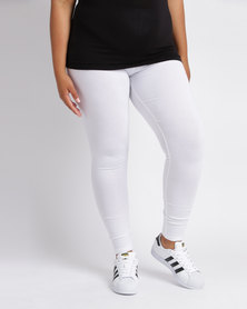 Utopia Plus Basic Leggings White