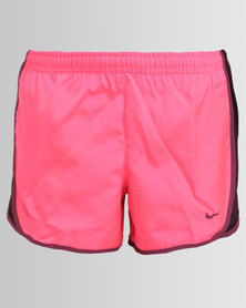 Nike Girls Nike Dry Tempo Shorts Pink