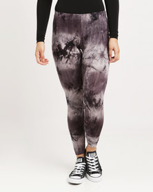 Paige Smith Printed Leggings Charcoal