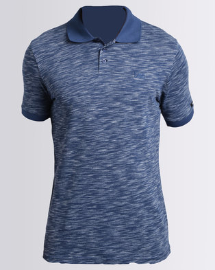 Lee Nulli Injection Polo Blue