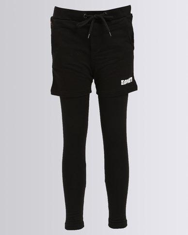 Soviet Boys Jax Trackpants Black