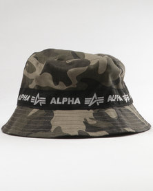 Alpha Industries Bomba Reversible Bucket Black