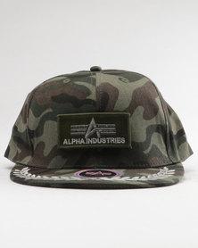 Alpha Industries Ranger Flatbill Peak Camo