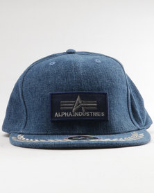 Alpha Industries Ranger Flatbill Peak Denim