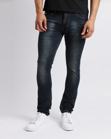 Alpha Industries Rocco Stretch Jeans Blue