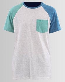 Lee Boys Colour Block Raglan T-Shirt